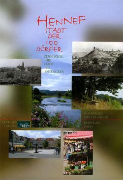 """Cover des Buches """"Hennef – Stadt der 100 Dörfer"""""""